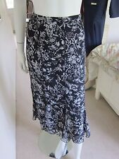 Reduced - Gerry Weber Skirt Size 10 BNWT Black White RRP £60 Now £30