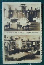Rare lot 2 CPA Cernay, Haut-Rhin (68), Cartes postales, hôtel billard Alsace.