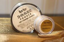 Ben Nye Luxury SHIMMER BANANA Powder 10 gram SAMPLE with sifter - Fabulous
