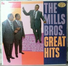 The Mills Bros. Great Hits. included Paper Dolls, The One You Love and more