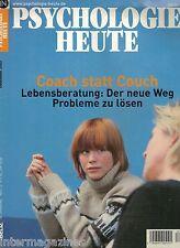 Psychologie Heute 12/2003 Dezember,Coach statt Couch - Lebensberatung,der Weg