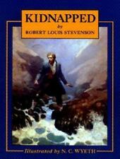 Kidnapped by Robert Louis Stevenson, illustrated by N. C. Wyeth, 1982 HC/DJ Book