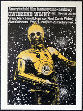 STAR WARS 1977 POLISH FILM MOVIE POSTER PAGE . C3-PO GEORGE LUCAS . V29