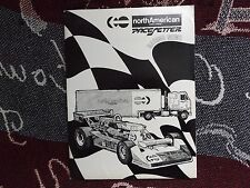 1978 KIT multimediale INDYCAR Press-North American PACESETTER Team-GORDON Johncock