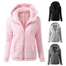 Cute Women Thicken Fleece Winter Warm Coat Hooded Parka Overcoat Jacket Outwear