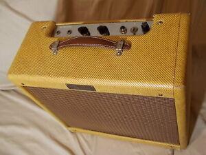 Vintage 1957 Fender Princeton Tweed Amplifier 5F2 Amp