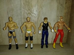 "2014 WWE Mattel 7"" tall (Lot of 4)"