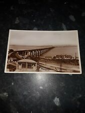 More details for tay bridge from south shows smith hood james moncur painter shops real photo