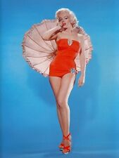 MARILYN MONROE SWIMSUIT BEAUTY WITH UMBRELLA  (1) RARE 4x6 GalleryQuality PHOTO