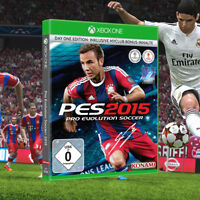 Pro Evolution Soccer PES 2015 Day 1 Edition Microsoft Xbox One Game | Brand New