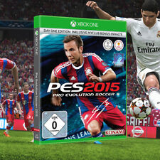 Pro Evolution Soccer PES 2015 Day 1 Edition Microsoft Xbox One Game | Neuf