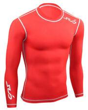 Camisetas y polos de deporte de hombre de manga larga rojos