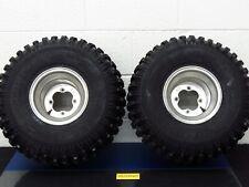 Yamaha Blaster 200 Rear Left Right Tire rim wheels wheel tires GOOD SHAPE 4x100