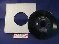 PHIL COLLINS Wish It Would Rain Down/Do You Remember 45 Record ATLANTIC RECORDS