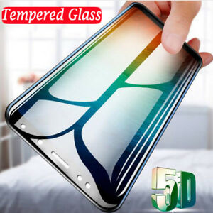 5D Tempered Glass Full Screen Protective for Xiaomi Redmi Note 5 6 Mi 8 6 A1 A2