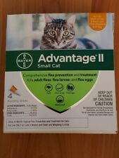 Advantage II Small Cat  4 Month Supply New Free Shipping