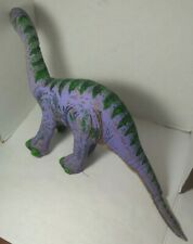 VTG 1992 Determined Productions Applause Dinosaur Plush Toy Plateosaurus Purple