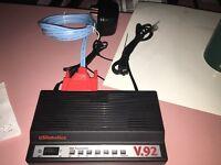US ROBOTICS 56K VOICE EXTERNAL FAX MODEM 5686 V.92