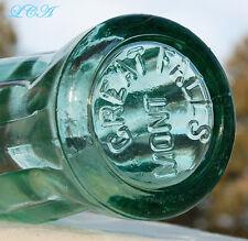 Scarce & ORIGINAL antique GREAT FALLS MONTANA hobbleskirt Coca Cola COKE bottle!
