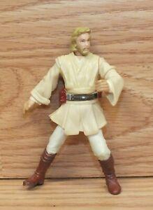 "2001 LFL Hasbro Small 2.5"" (inch) OBI-WAN KENOBI Collectible Action Figure"