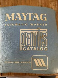 Maytag Automatic Washer parts catalog(1962)