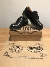 "NPS SOLOVAIR ""The Postman"" Black 4 Eye Gibson Shoes! SizeUK9! New! Only £139.90!"