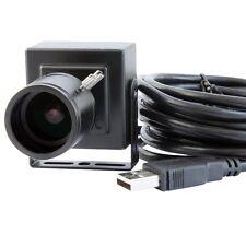 5MP CMOS USB Camera Electronic Microscope Free Driver w/ 2.8-12mm Varifocal Lens