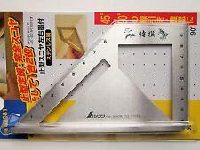 SHINWA Miter Square Metric Stainless Steel Standard Model Carpenter 62081 Japan