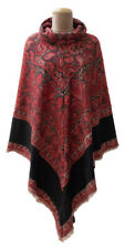 Autumn Winter Poncho Cape Kaftan Jacket One Size 10 12 14 16 18 20