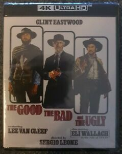 The Good the Bad and the Ugly 4K Ultra HD + Blu-ray Brand New Sealed