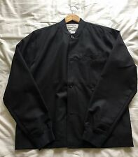 Universal Works Newark Light Jacket in Charcoal Tropical Wool Mix BNWT Size XL.
