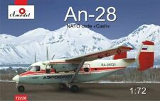 "Amodel 1/72 Model Kit 72226 Antonov An-28 NATO code ""Cash"" Aeroflot 'red' RA-287"