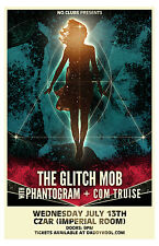 The Glitch Mob * Original Concert Poster 11x17 2011 tour Phantogram Com Truise
