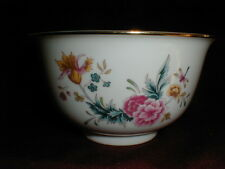 Avon American Heirloom Independence Day Floral & Dragonfly Bowl 1981