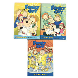 Family Guy Volume 1, 2, & 3   Region 1 DVD 10 Disc Set