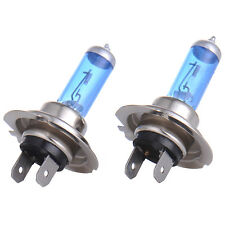 6000K H7 55W 12V 2pcs Car Gas Halogen Headlight White Light Lamp Bulbs NW