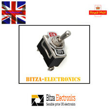 Heavy Duty Toggle Switch 12 - 240V / 8A AC - UK Seller