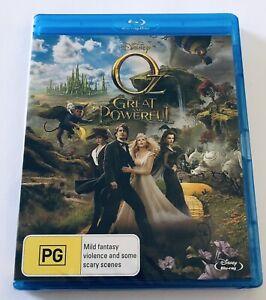 Oz The Great And Powerful Blu Ray NEW & SEALED** Disney Movie 🍿 Region B PG
