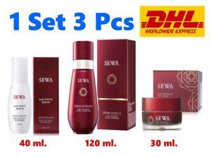 Set SEWA Age White Serum Insam Essence Day Cream Anti Aging Radiant Skin Lifting