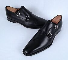 Magnanni  'Miro' Slip-On Double Monk- Black -Size 11 M -$398