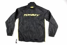 Vintage 90s Tommy Hilfiger Mens Medium Spell Out Full Zip Windbreaker Jacket