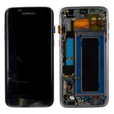 Display LCD Komplettset GH97-18533A Schwarz für Samsung Galaxy S7 Edge G935F Neu