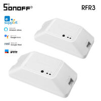 SONOFF RFR3 WIFI DIY Smart Switch 433MHz RF Control Timer Light Controller N4J3
