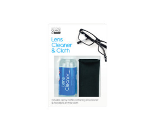 Eye Glasses Optical Spectacle Lens Cleaner Cloth Set Cleaning Solution Spray