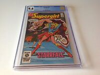 SUPERGIRL 15 CGC 9.6 WHITE PAGES STARRFALL PAUL KUPPERBERG INFANTINO DC COMICS