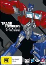 Transformers: Prime - The Complete Series Boxset NEW B Region Blu Ray
