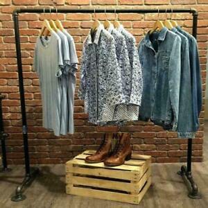 Freestanding Industrial Clothes Rail - Urban, Vintage, Steampunk - Custom Sizes