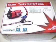 Dynamite DYNS1450 Tazer Twin 2-in-1 Brushless Motor ESC Combo 3000Kv : 1/10 2WDS