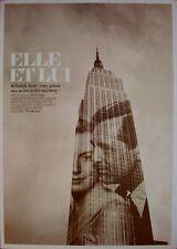 ELLE ET LUI Affiche Cinéma ROULEE 60x40 Movie Poster Cary Grant Deborah Kerr
