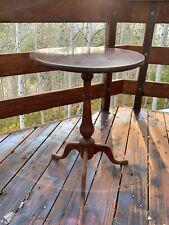 Beautiful Antique 1700s Walnut Pedestal Table